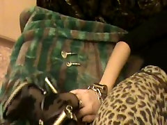 Frances hogtied and gagged.