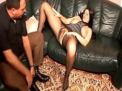 naughty-hotties.net - German BBW in pantyhose