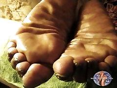 BIG & Thick Size 12W Mature Ebony Soles