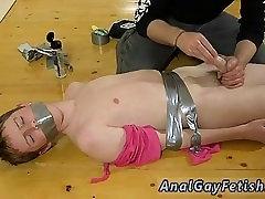 Boy bondage masturbation and male bondage tickle gay The skimpy dude