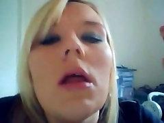 Blonde Power Smoking