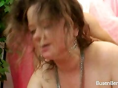 Busty BBW Fucks and Get Cum on Huge Tits