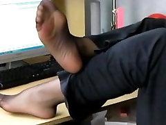 Nylon Feet Sniffing Doll Fetish Toy Dom Pantyhose NINJA Stinky PANTYHOSE