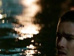 Alicia Vikander - Topless swimming, underwear - Son Of A Gun 2014