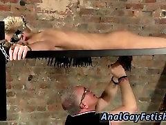 Gay hairy bondage tgp Draining A Slave Boys Cock