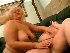 2 Horny Fat BBW Lesbian friends love pussy-3