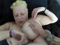 Big boob milf titfucked, hand job, big cumshot