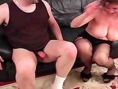 Old Amateur BBW Tit Job