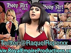Raquel Ropers Body Art Vol.1 DVD Promo!