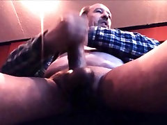 Mature dad loves to jerk off and sniff poppers