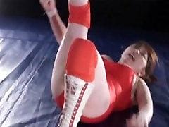 Japanese Girl Nude Wrestling I