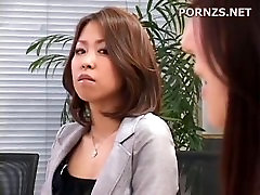 Asian blackmailed into lesbian sex