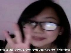 Vintage Busty Asian Camgirl Harriet Sugarcookie on MyFreeCams HarrietSugarC