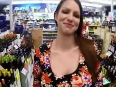 Big tits and juicy cunt beauty flashing store