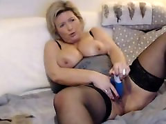 Mature Blond Amateur from Belgium