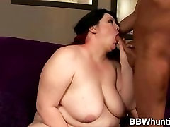 Hot amateur BBW fucked by our pro guy