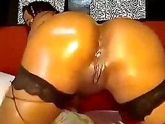 Hot Big Ass Latina Anal Fingering & Toying