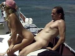 Boat swinger group sex on the water