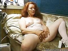 Redhead Mature Gets Busy mature mature porn granny old cumshots cumshot
