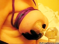 Mrs30k Breast Pump mature mature porn granny old cumshots cumshot