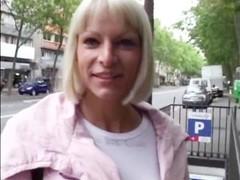 Fucking Elke a beautiful blonde in the asshole