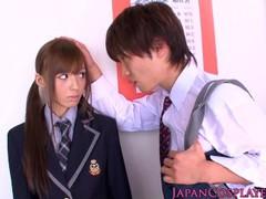 Cosplay Misaki Ayuzawa sucks dick