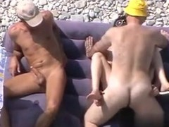 I found her on MATURE-FUCKS.COM - Mature bitch on the beach