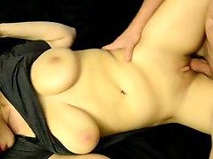 Amateur Girl Stuffed Full of Dick