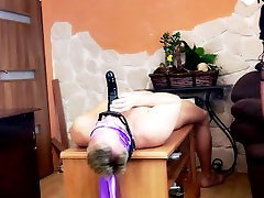 Extreme Huge Squirting Orgasm on slave face. Face Sitting, Smoking, Domina