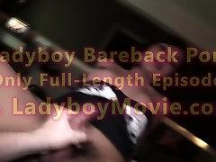 Ladyboy Elle Handjob n Bareback