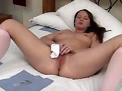 Amateur in White Panties