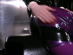Two latex nymphos with brunette hair are ready for some johnny sins and katrina white games