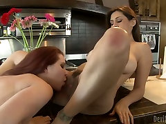 Sexalicious babes eats out each other in 69 position
