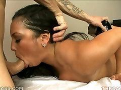 Dazzling Filipino cutie Adriana Luna deepthroats her lovers dick