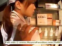 Yua Aida innocent asian nurse enjoys lots of sex