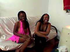 Hot ebony chick with the tight punaani boned