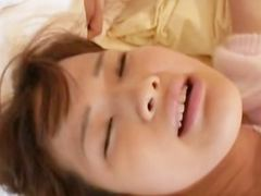 stunning asian toying and fisting