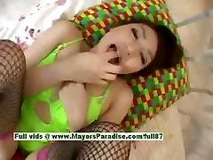 Saori chubby asian girl enjoys getting a cock