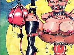 Bizarre Sex BDSM Orgy Comic