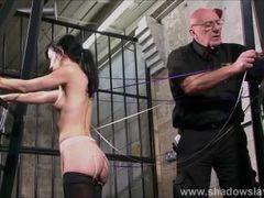 Slave Elise Graves needle bdsm