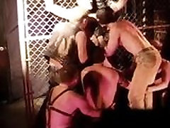 CBT BDSM orgy at San Francisco sex club.