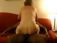 Another ride on that big black cock