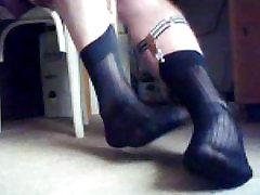 My new sheer socks