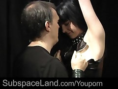 Body bdsm pain for young green girl