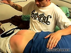 Spanking cartoons male gay Peachy Butt Gets Spanked