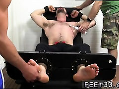 Gay sexy white men big cock and feet Dolan Wolf Jerked & Tic