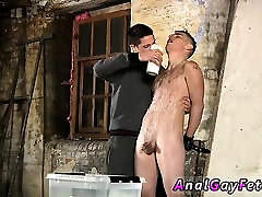 Gay twink bondage movie first time Poor Leo cant escape as