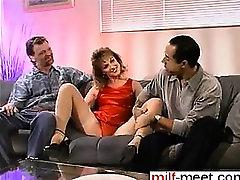 Fuck from MILF-MEET.COM - Wife in heat doublepenetrated