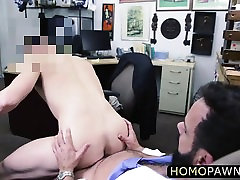 Mature man game for a gay anal sex