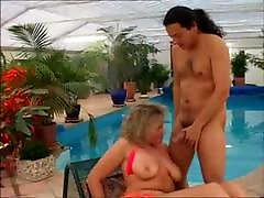 Chubby Mature is Fucked in All Holes by Satanika